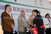 Avances en programas sociales demuestran que el plan Michoacán está funcionando: SJG