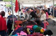Inicia Expo Navideña en la plaza principal