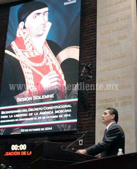 Que el 2015 sea el año de las mejores decisiones para Michoacán: Silvano