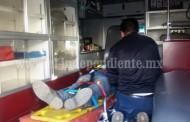 Mecánico grave tras ser aplastado por la camioneta que reparaba