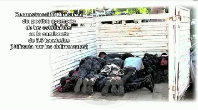 Explicación que ofreció la PGR sobre el caso Ayotzinapa