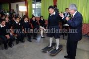 Salvador Jara pone en marcha programa que busca mejorar el entorno social desde las escuelas secundarias