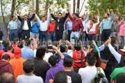 Recibe Silvano respaldo de más de 22 mil transportistas de Michoacán