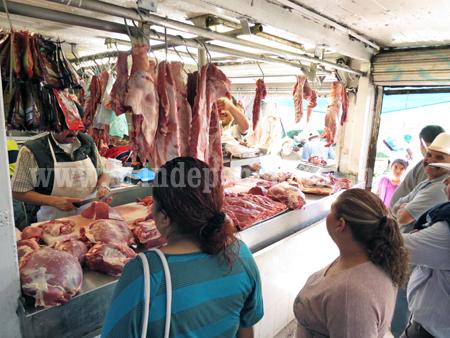 Sube 5 pesos costo de kilo de carne