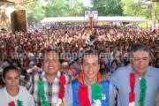 Reyenses reciben apoyos del,programa Sin Hambre