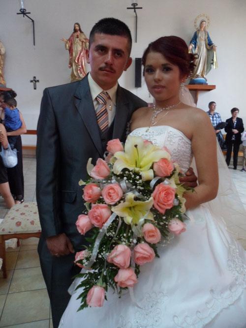 Yesenia y Martín unen sus vidas
