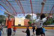 """Todo listo para el Torneo de Voleibol """"Semana Santa 2015""""."""