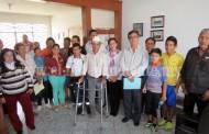 Diputada Kena Méndez cerró labores de gestión con entrega masiva de apoyos