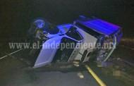Un muerto y tres heridos en fatal accidente vehicular