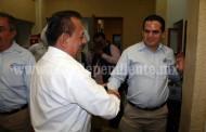 El Dr. José Carlos Lugo fue bien recibido en Palacio Municipal
