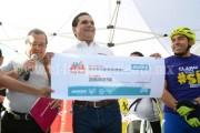 Silvano gestionará 120 mdp para fomentar uso de la bicicleta en su primer año de gobierno