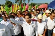 Refrendaron confianza en Silvano habitantes de Gabriel Zamora y Uruapan