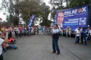 César Palafox compromete obras de impacto en Los Reyes
