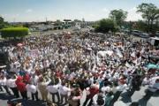 Mezcaleros se pronunciaron por el candidato todo terreno, Chon Orihuela