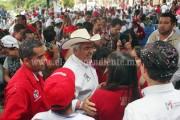 Con recorridos por más de 100 municipios, Chon Orihuela demuestra cercanía con la gente