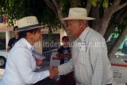 """Michoacanos reiteran su apoyo a """"Cocoa"""" Calderón"""