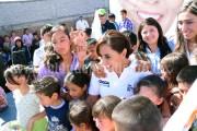 "Indispensable recuperar el tejido social para cuidar la niñez michoacana: ""Cocoa"" Calderón"