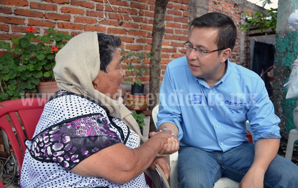 En mi gobierno, la mujer tendrá un lugar privilegiado: Gerardo García