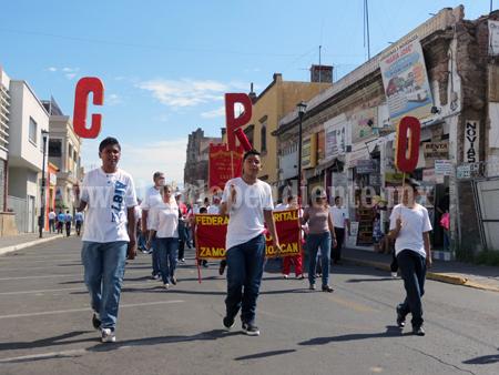 5 mil trabajadores encabezarán la marcha por el Día del Trabajo