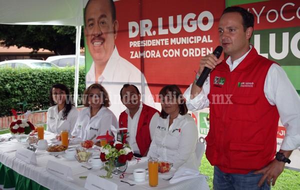 """Ya es hora que tengamos un presidente municipal que ponga orden"": mujeres empresarias"