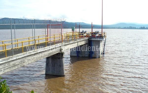 Óptimos los niveles de las presas Urepetiro y San Juanico, tras recientes lluvias