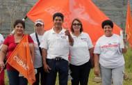 Va sobre ruedas la campaña de Rubén Cabrera en Jacona
