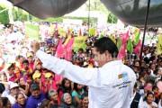 Con propuestas, Silvano ofreció un Nuevo Comienzo para Indaparapéo, Queréndaro y Zinapécuaro