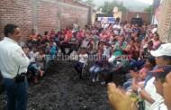 Vecinos de La Esperanza apoyan a Palafox