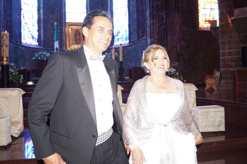 Festejaron 25 años de matrimonio
