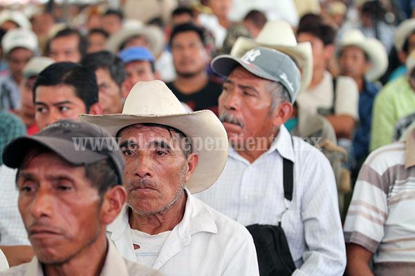 LA SEDATU HA INVERTIDO MÁS DE 575 MILLONES DE PESOS PARA RESOLVER 77 CONFLICTOS AGRARIOS