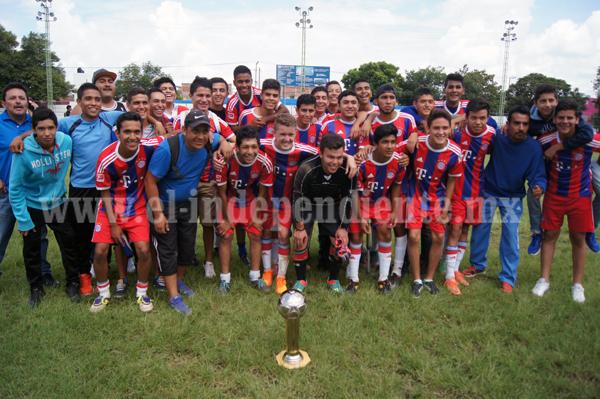 Arantxa F.C. Campeón del Torneo de Copa Categoría Juvenil en futbol