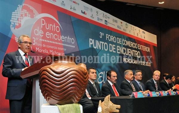 Michoacán se mantiene en primeros lugares de crecimiento económico: Jara