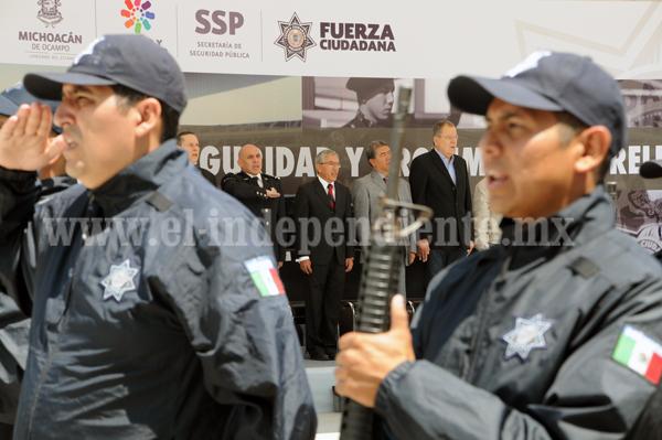PRESENTAN PLAN DE REFORZAMIENTO DE SEGURIDAD Y PROXIMIDAD DE MORELIA