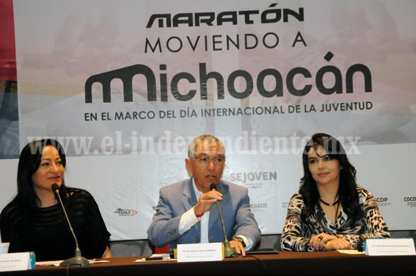 Morelia tendrá su primer maratón, anuncia Gobernador Salvador Jara