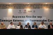 · Declara gobernador en sesión permanente consejo estatal de protección civil por fenómenos hidrometeorológicos