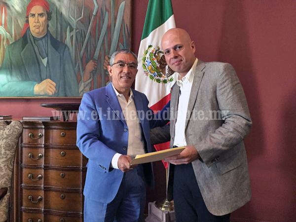 Salvador Jara designa a Luis Gálvez Antúnez como secretario de desarrollo económico