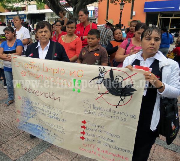 Segunda mitad  del  año,  más difícil  para el combate  del mosco del dengue