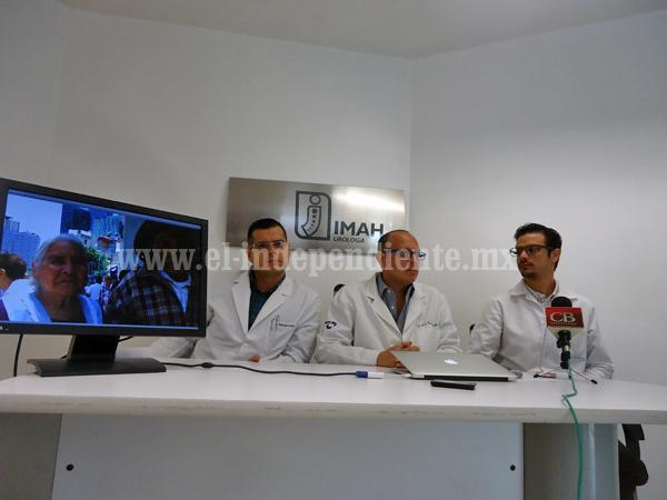 IMAH  incrementó sus servicios con un departamento de geriatría y urogeriatría