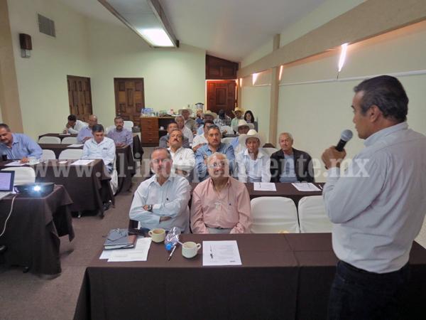 CONAGUA invirtió más de 6 mdp en capacitación para titulares de los módulos de riego  en todo el país