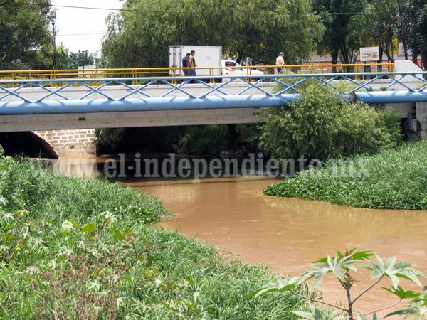 Mantendrán monitoreo sobre nivel de drenes y canales
