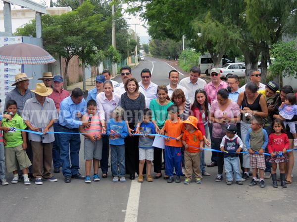 Destinan más de 2 mdp para rehabilitar urbanización del Cerrito de Ortiz