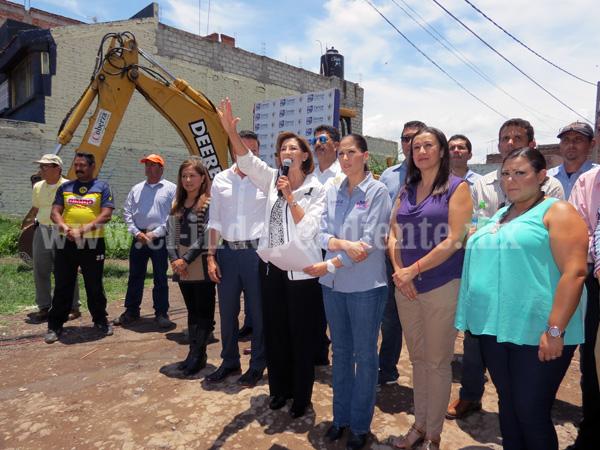 Destinarán más de 4 mdp para pavimentaciones en colonia Valencia