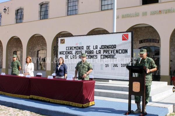 ARRANCA SSM JORNADA NACIONAL PARA LA PREVENCIÓN DE ADICCIONESEN COORDINACIÓN CON EL SMNEN MICHOACÁN