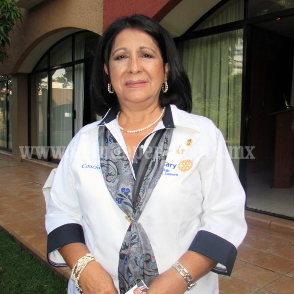 María Concepción Moreno Castañeda es la nueva presidenta del Club Rotario Erandi