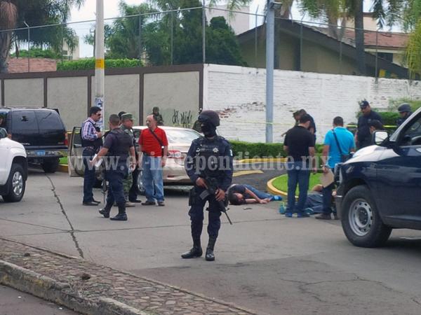 Enfrentamiento entre PGR y presuntos delincuentes deja 2 muertos