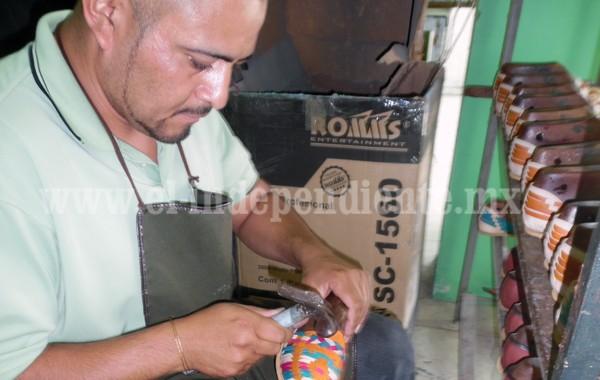 Productores de huarache intentan mayor aprovechamiento de la industria