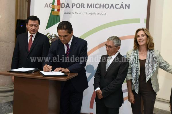 Signa Silvano Agenda por Michoacán con más de 20 Organizaciones Sociales en las instalaciones de la Segob