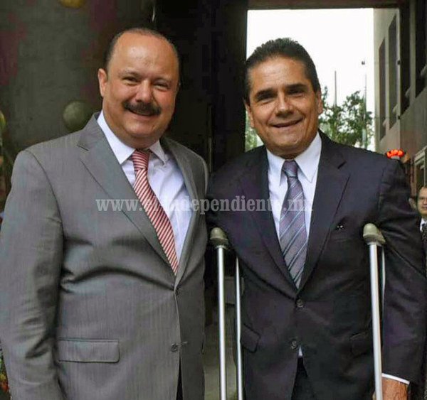 Silvano Aureoles y César Duarte comparten experiencias sobre políticas gubernamentales