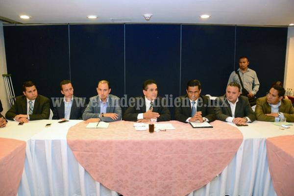 Trabajo coordinado a favor de Michoacán, el compromiso entre el gobernador electo, Silvano Aureoles y el panismo estatal