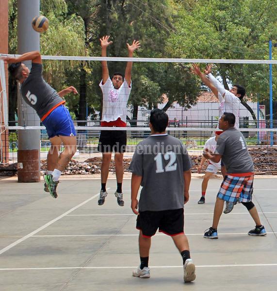 Subió la intensidad en juegos de voleibol con miras a playoffs